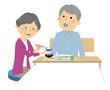 痴呆症の高齢者 老老介護