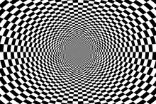 Psychedelic Optical Spiral Wit...