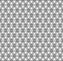 Geometric Pattern. Abstract Geometric Seamless Background. Black White Vector