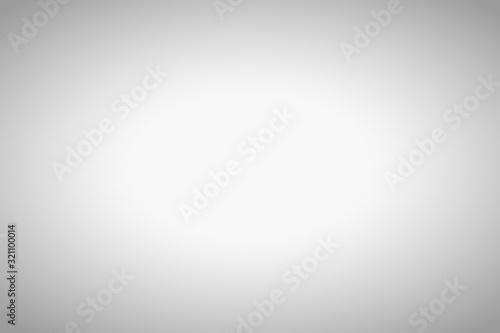 Fototapeta Empty grey blurred background with radial gradient. obraz na płótnie