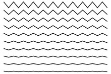 Wave Line Zigzag
