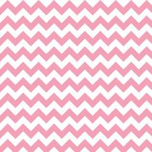 Pink And White Chevron Pattern