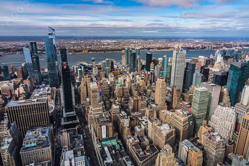 Fotomural Panorami di Manhattan ripresi dall'Empire State Bulding in New York