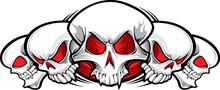 5 Skulls Tattoo