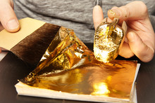 Artwork Of Gilding - Covering An Object With Plate Metal Gold