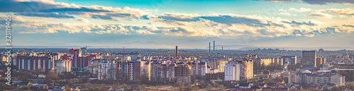 Fototapety, obrazy: Panorama of the Ukrainian city