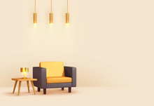 Interior Design Living Room. R...