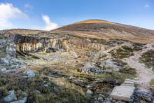 Old Stone Quarry In Mourne Mou...