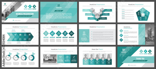 Fotografía Presentation templates, corporate