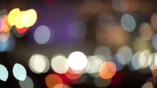 Abstract Bokeh Out Of Focus Li...