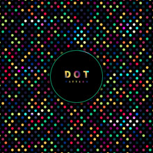 Abstract Seamless Dots Pattern...