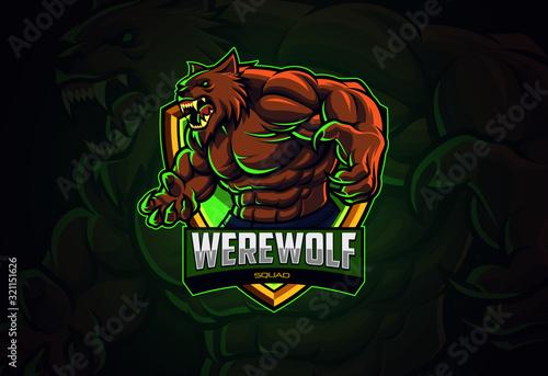 Photo Werewolf esports logo design for your team
