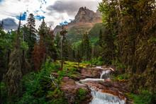 River Cascade Hike Views At Gl...