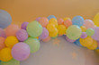 coloured balloons for birthday parties