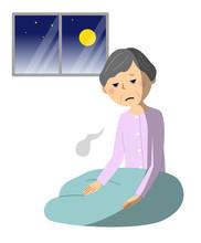シニア女性 不眠