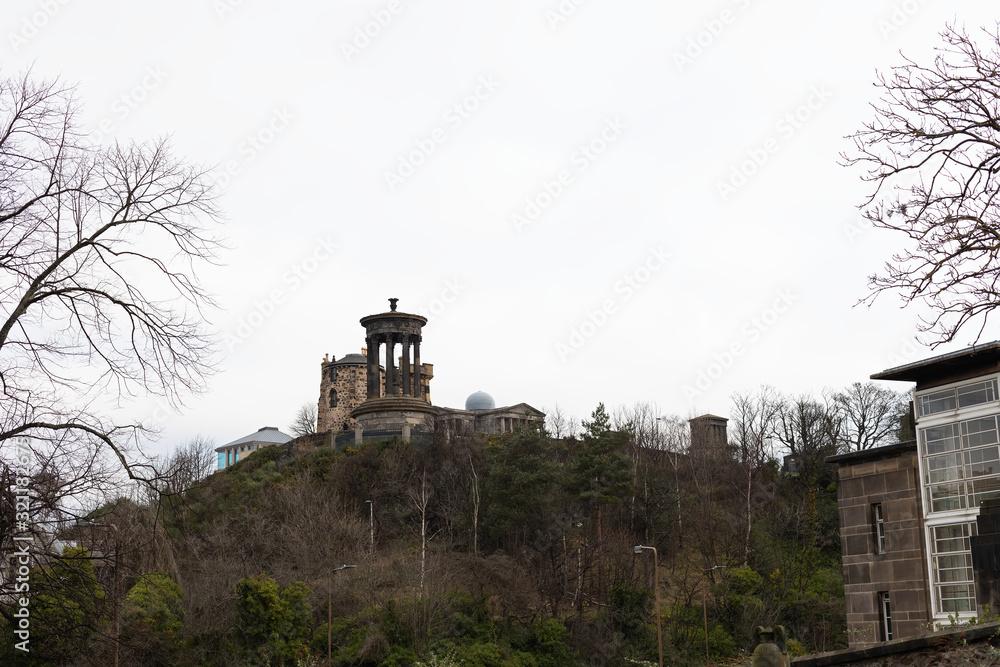 Fényképezés Dugald Stewart monument