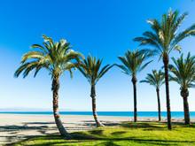 Carihuela Beach In Torremolino...