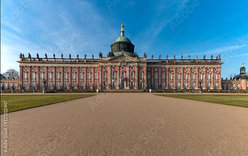 Foto Neues Palais in Potsdam, Brandenburg