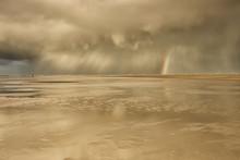 Dramatic Storm Shower Cloud An...