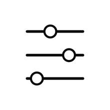Filter Icon Design Vector Logo Template EPS 10