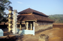 A Typical Konkan Temple (Lord ...