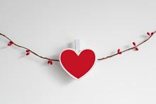 Handmade Valentine's Day Garla...