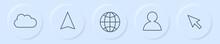 Neumorphism Button - Social Me...