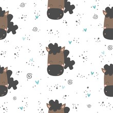 Vector Seamless Pattern With C...