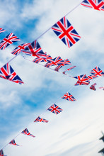 A Lot Of Flag Of United Kingdom