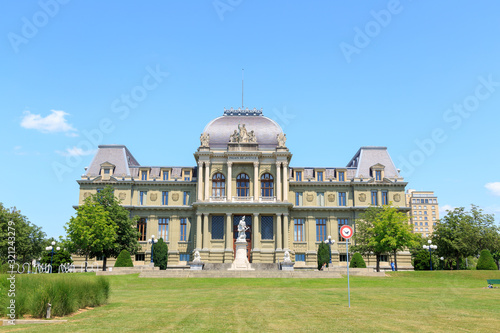 Valokuva Lausanne, Switzerland. Palace of Justice. Swiss Federal Court