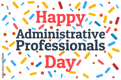 Photo Administrative Professionals Day, Secretaries Day or Admin Day