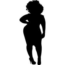 African American Woman Standin...