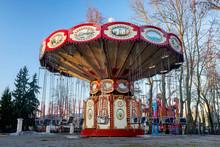 Beautiful Colored Carousel In ...