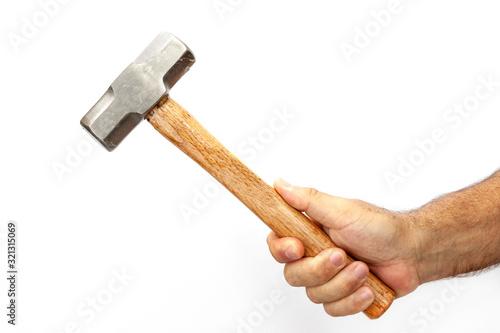 Obraz na plátně hammer and hand