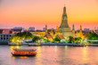 Leinwandbild Motiv Bangkok  Wat Arun,Thailand