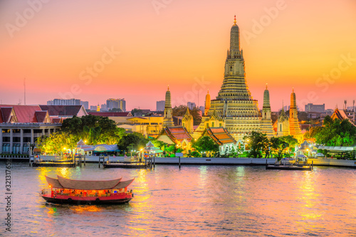 Photo Bangkok  Wat Arun,Thailand