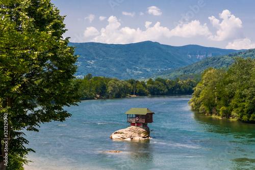Photo House on Drina in Bajina Basta near Tara National Park in Sebia