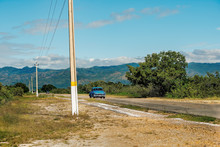 Country Road In Cuba Where A B...