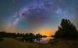 Starry night in summer