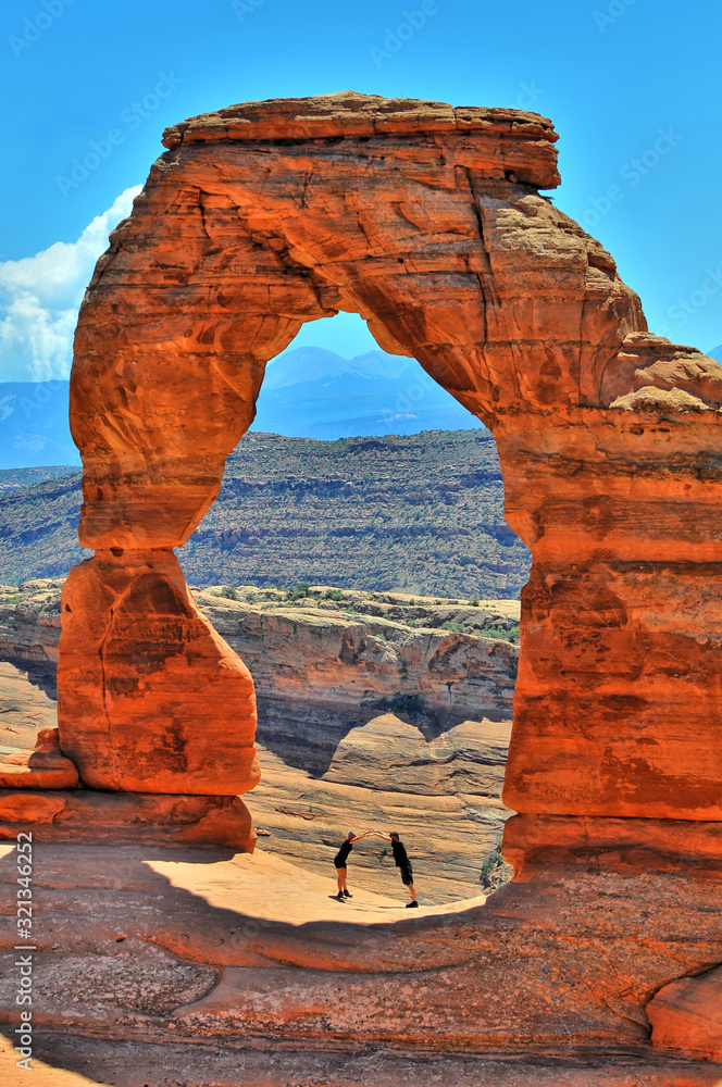 Fototapeta Delicate Arch in Arches National Park in Utah, United States