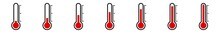 Thermometer Icon Red | Tempera...