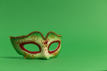 Festive, Colorful Masks Of Mar...