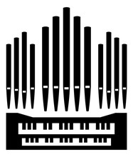 Pipe Organ Instrument Icon