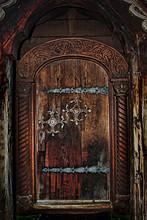Norwegian Stave Church Door