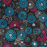 abstract grunge circle seamless