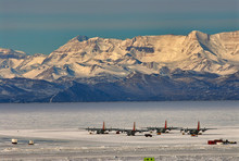 Aircraft At McMurdo Station Antarctica