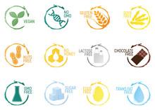 Set Of Allergen Food, GMO Free...