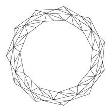 Easy Mandala With Triangles, B...