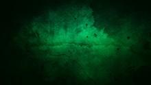 Dark Green Grunge Texture Abstract Background