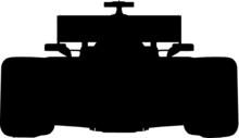 Vektor Vector Person Freisteller Auto Formel 1 Silhouette